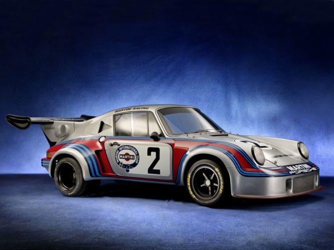 1974 Porsche 911 Carrera RSR Turbo race racing supercar supercars classic wallpaper