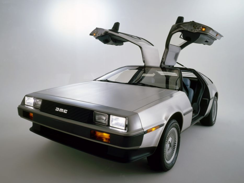1981 DeLorean DMC-12 supercar supercars classic   g wallpaper