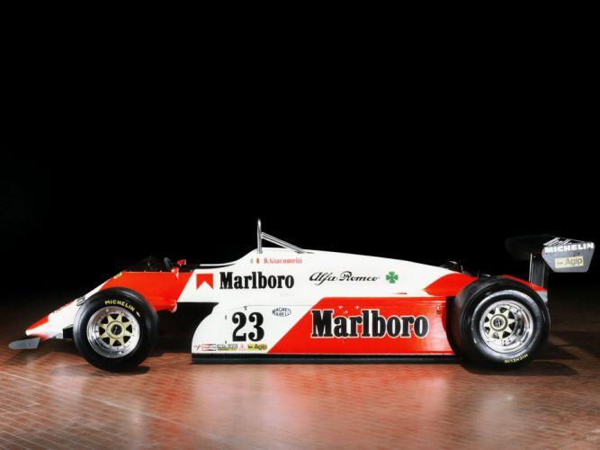 1982 Alfa Romeo 182 formula one f-1 race racing classic wallpaper