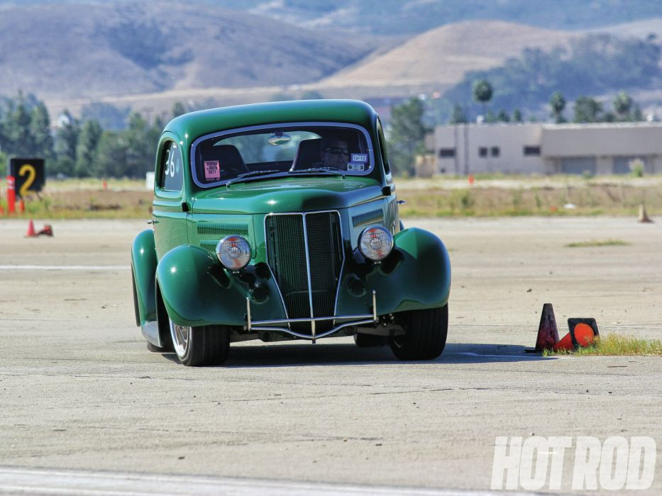 1936 ford three window coupe retro hot rod rods h wallpaper