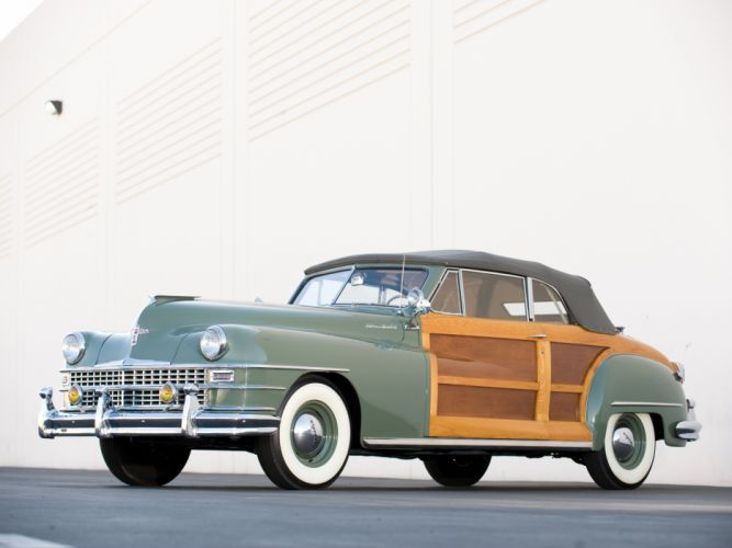 1948 Chrysler Town & Country Convertible retro f wallpaper