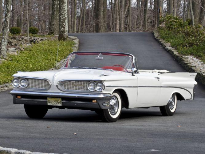 1959 Pontiac Catalina Convertible retro g wallpaper