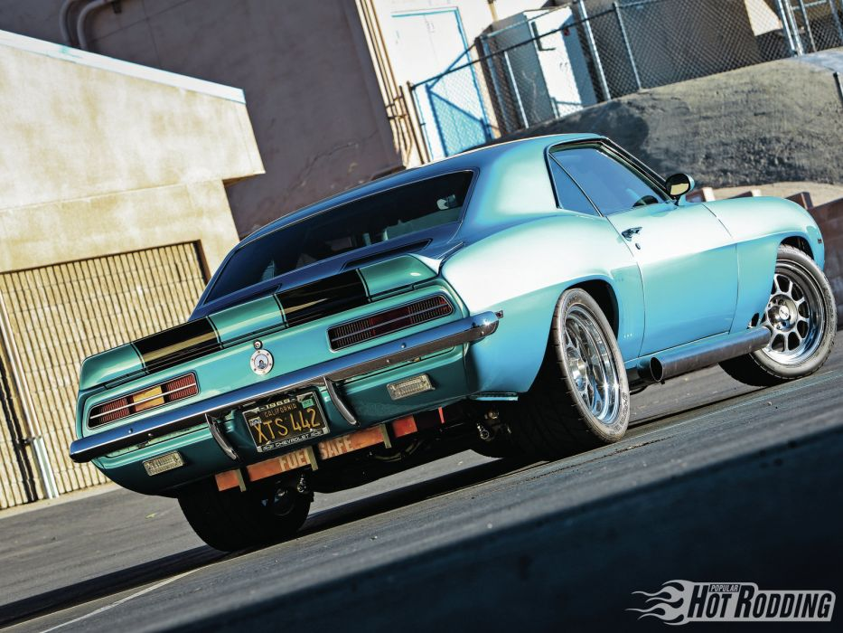 1969 Chevrolet Camaro 540 muscle classic hot rod rods wallpaper
