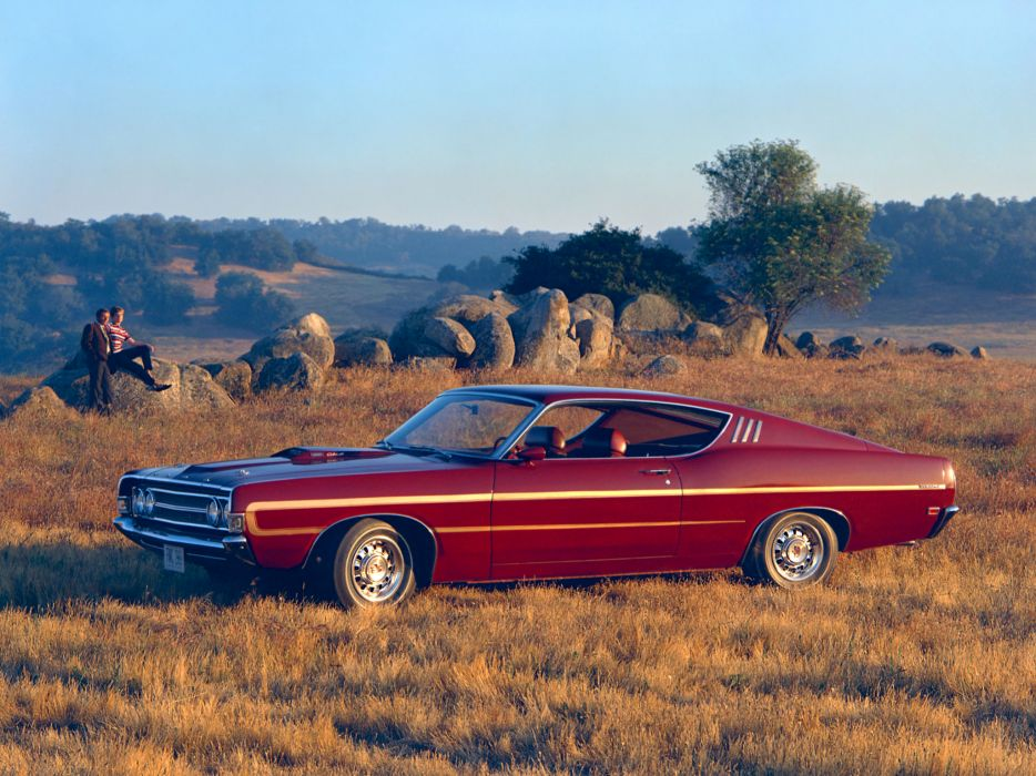 1969 Ford Fairlane Torino Gt Sportsroof Muscle Classic F