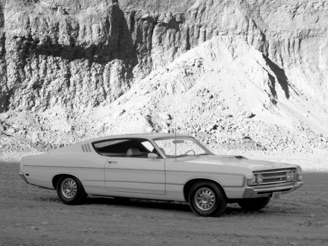 1969 Ford Fairlane Torino GT Sportsroof muscle classic wallpaper