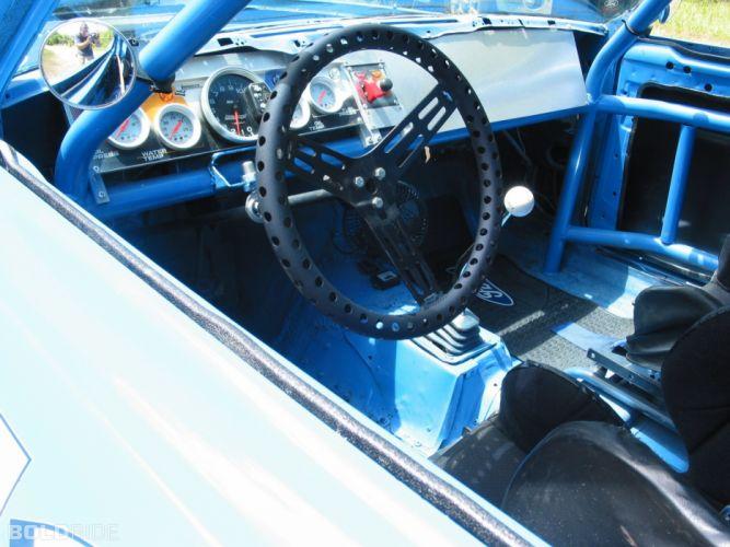 1969 Ford Torino Cobra 408-400 HP nascar race racing classic muscle interior wallpaper