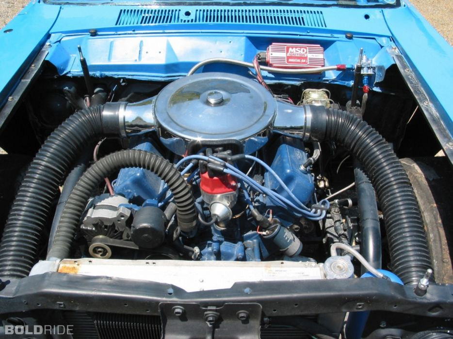 1969 Ford Torino Cobra 408-400 HP nascar race racing classic muscle engine engines wallpaper