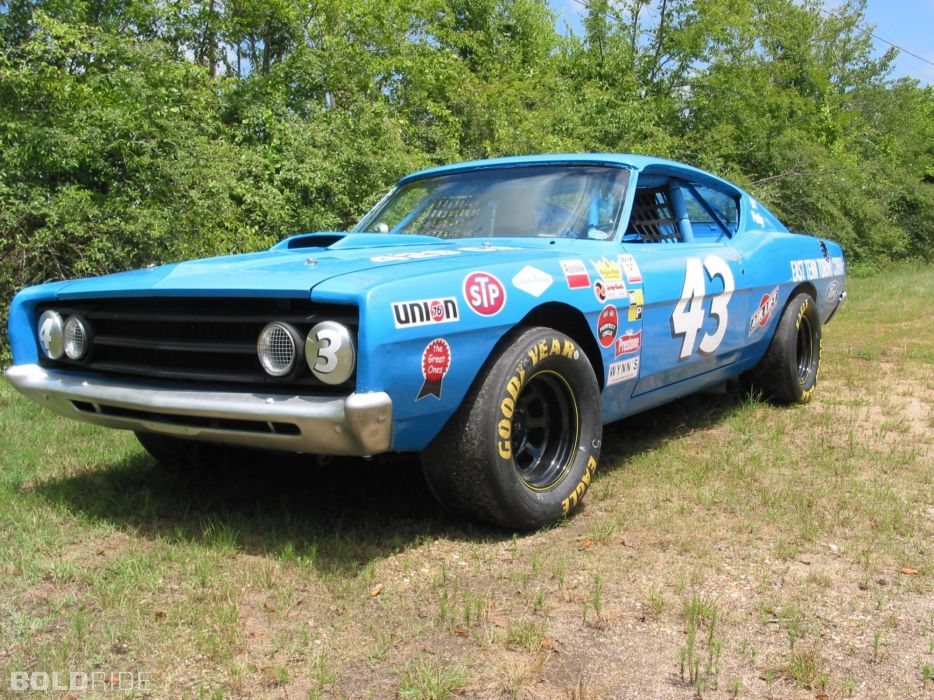 1969 Ford Torino Cobra 408-400 HP nascar race racing classic muscle wallpaper