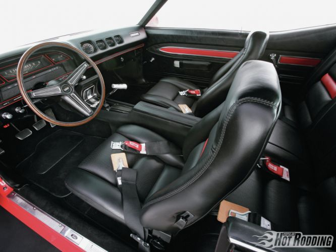 1970 Boss Ford Torino G-t 429 muscle classic hot rod rods interior wallpaper