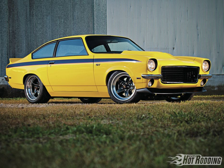 1971 Chevrolet Vega 454 classic muscle hot rod rods     d wallpaper
