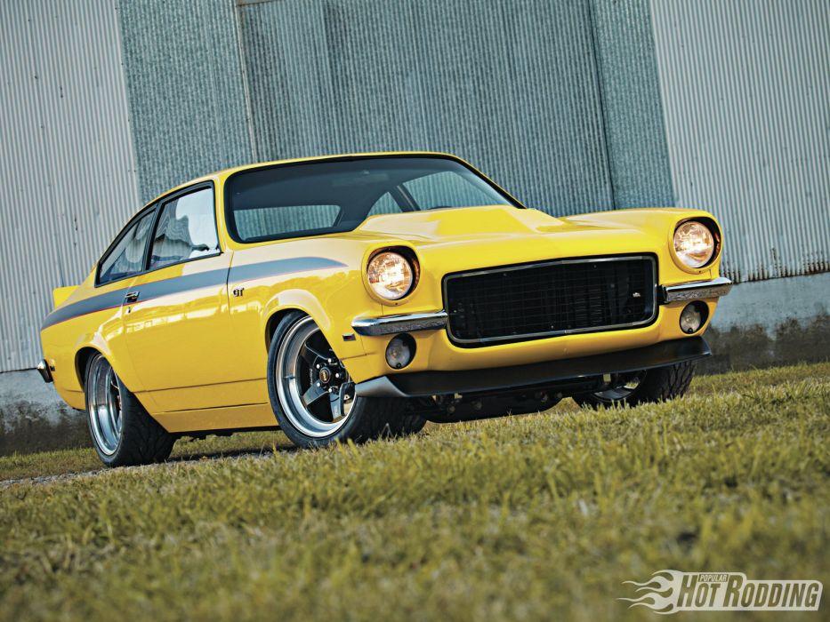 1971 Chevrolet Vega 454 classic muscle hot rod rods    f wallpaper