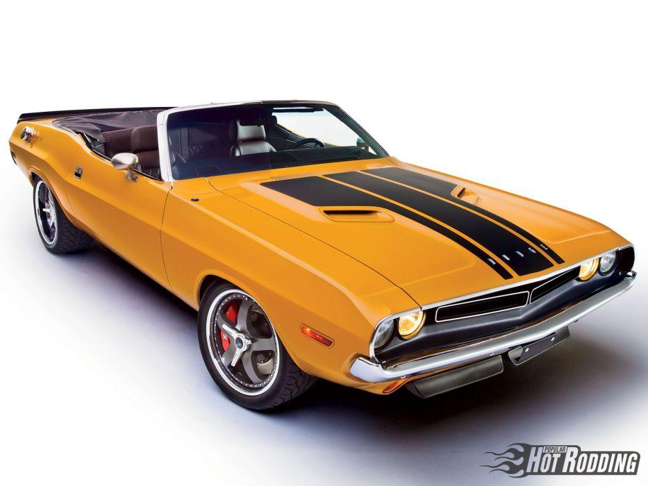 1971 Dodge Challenger 572 Hemi Convertible Muscle Classic