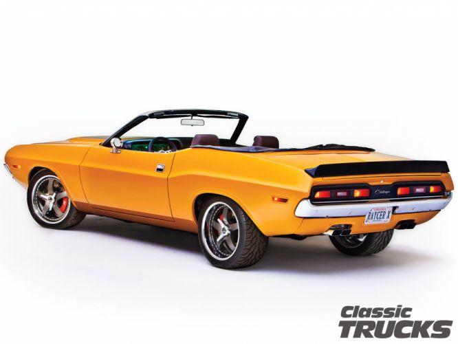 1971 Dodge Challenger 572 Hemi convertible muscle classic hot rod rods g wallpaper