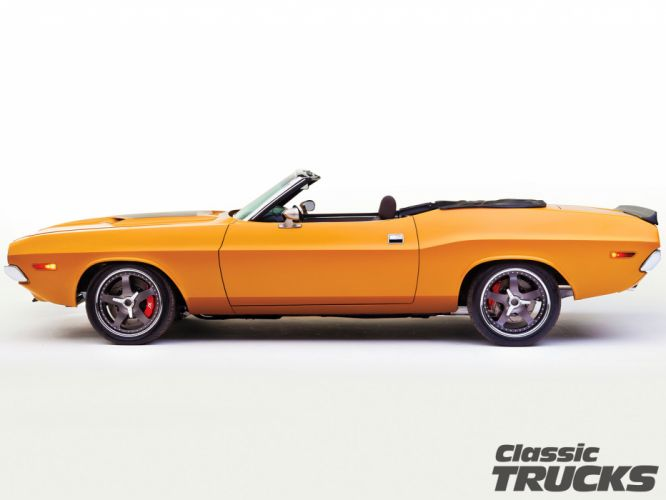 1971 Dodge Challenger 572 Hemi convertible muscle classic hot rod rods g wallpaper