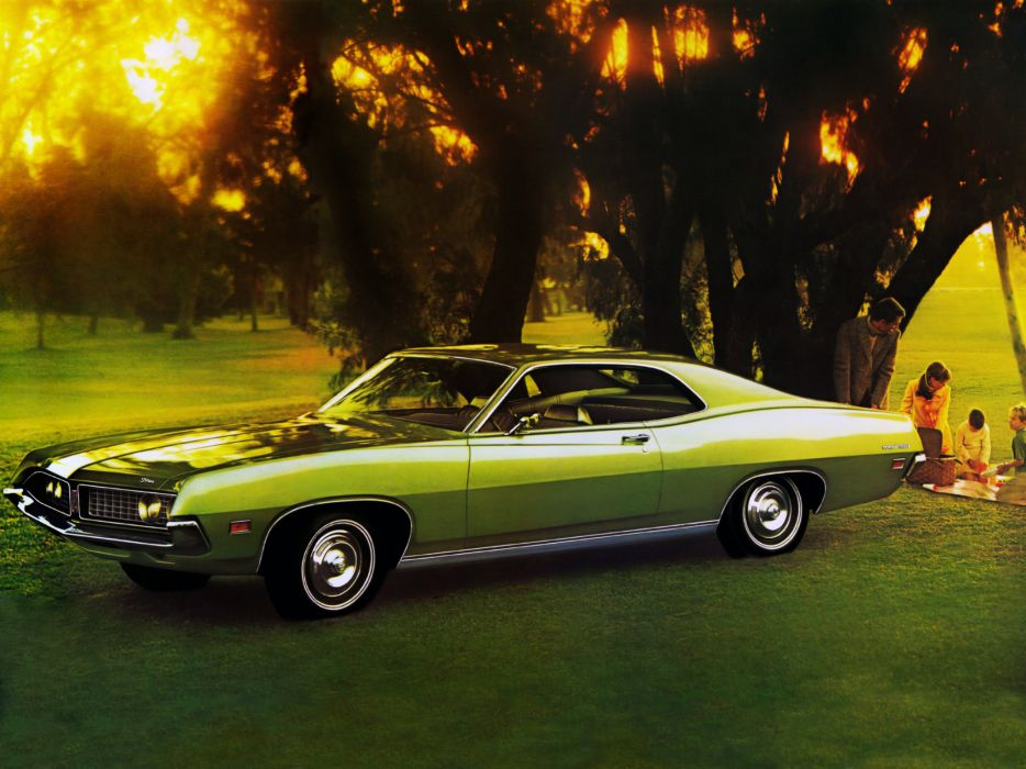 1971 Ford Torino 500 Hardtop Coupe muscle classic wallpaper