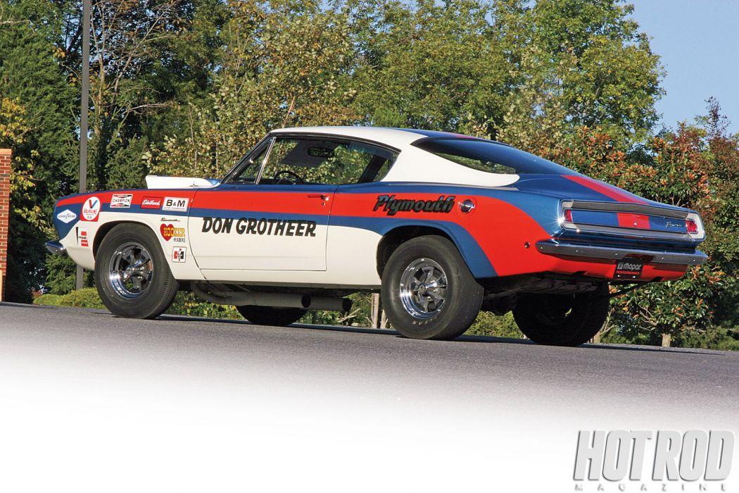 1968 Plymouth Hemi Super Stock Barracuda cuda muscle classic drag racing race hot rod rods f wallpaper