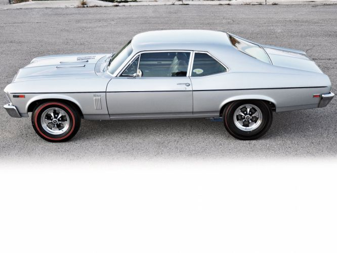 1969 Chevrolet Nova S-S 427 muscle classic hot rod rods f wallpaper