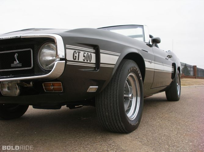 1969 Ford Shelby GT500 convertible muscle classic wheel wheels wallpaper