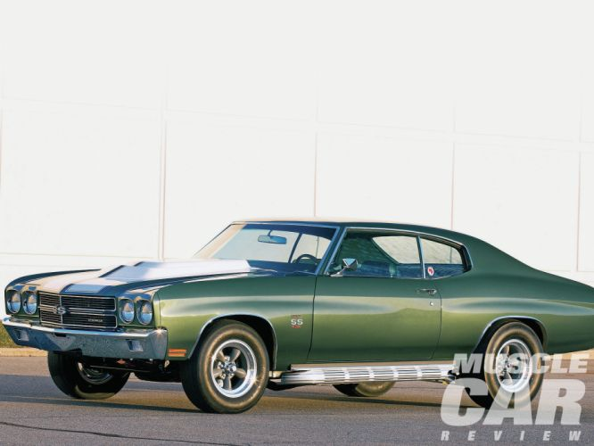 1970 Chevrolet Chevelle S-S muscle classic hot rod rods wallpaper