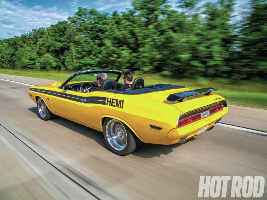 1970 dodge challenger convertible hemi muscle classic hot rod rods yr wallpaper