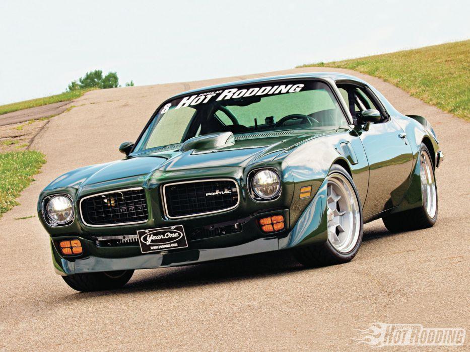 1973 Pontiac Trans-Am muscle classic hot rod rods trans   k wallpaper