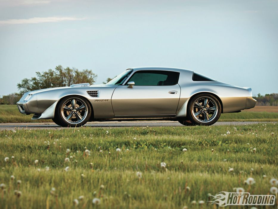 1973 Pontiac Trans-Am muscle classic hot rod rods trans   h wallpaper