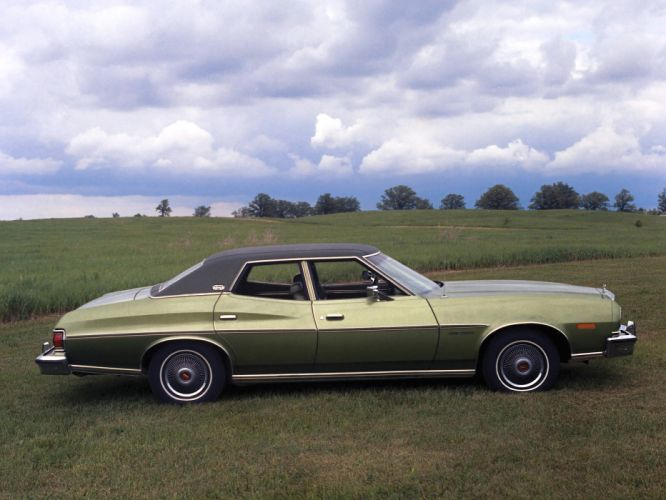 1976 Ford Gran Torino Hardtop Sedan 53D wallpaper