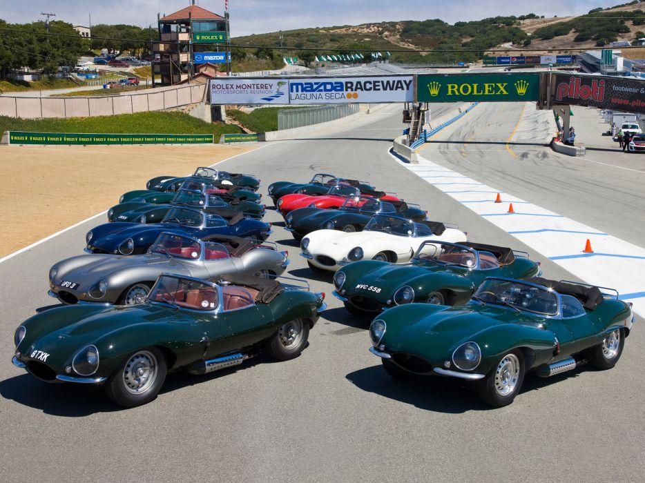 1957 Jaguar XK-SS retro supercar supercars    g wallpaper