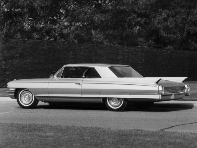 1962 Cadillac Sixty-Two Hardtop Coupe 6237G classic luxury wallpaper