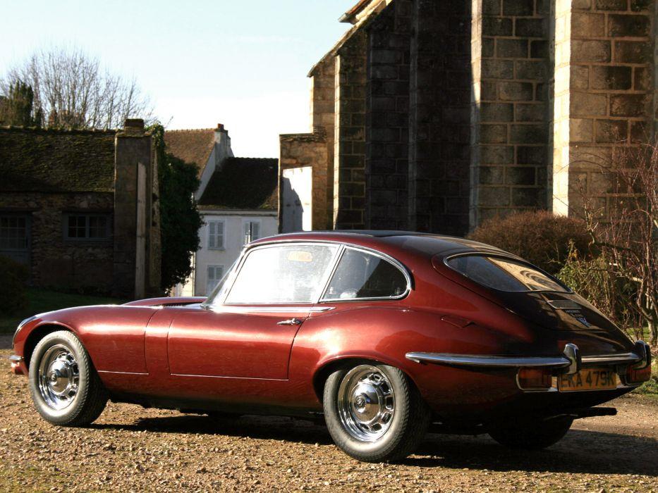 1971 Jaguar E-Type V12 Fixed-Head Coupe UK-spec classic supercar supercars   g wallpaper