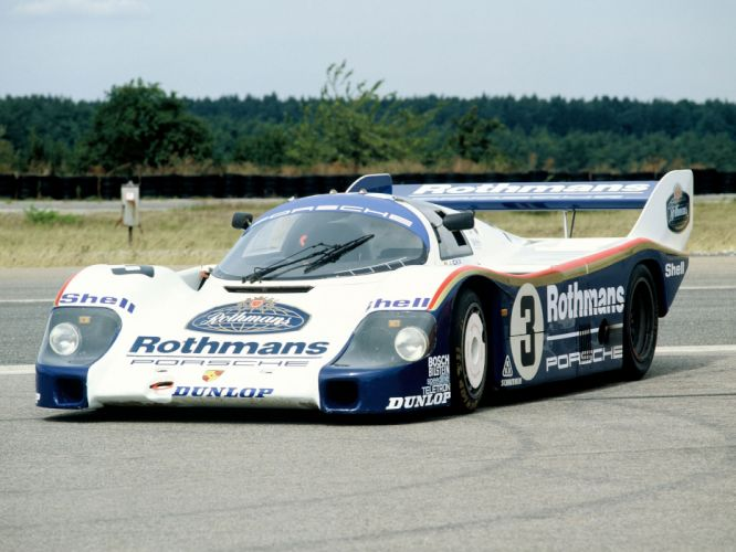 1983 Porsche 956 C Coupe classic race racing r wallpaper