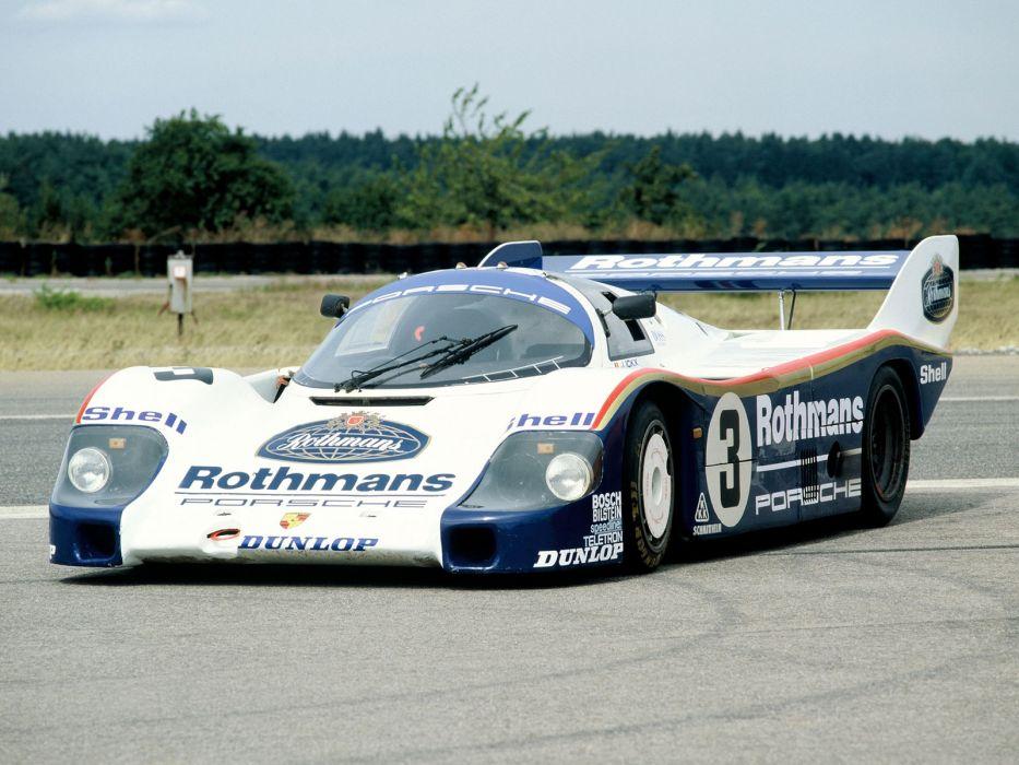 1983 Porsche 956 C Coupe classic race racing     r wallpaper