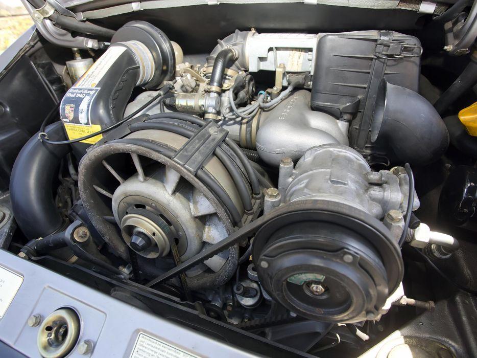 1984 Porsche 911 Carrera 3-2 Cabriolet US-spec clic engine ...