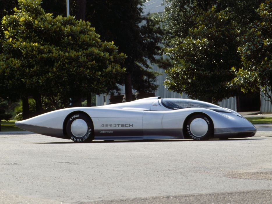 1987 Oldsmobile Aerotech I Long Tail Concept supercar supercars classic   f wallpaper