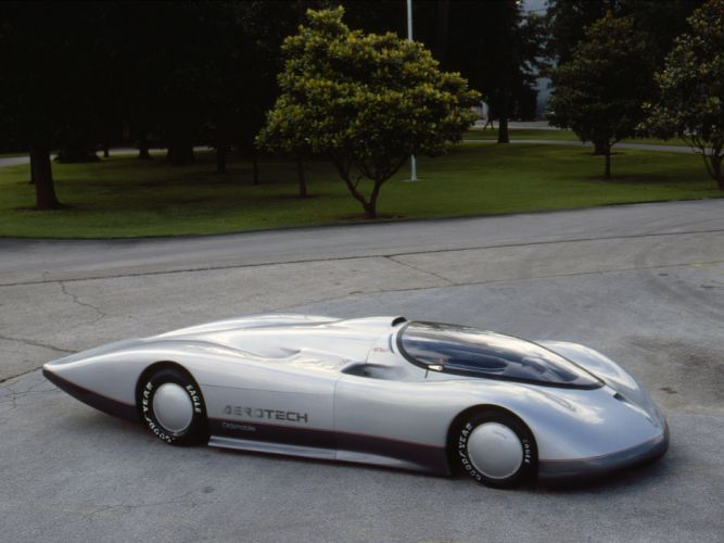 1987 Oldsmobile Aerotech I Long Tail Concept supercar supercars classic wallpaper