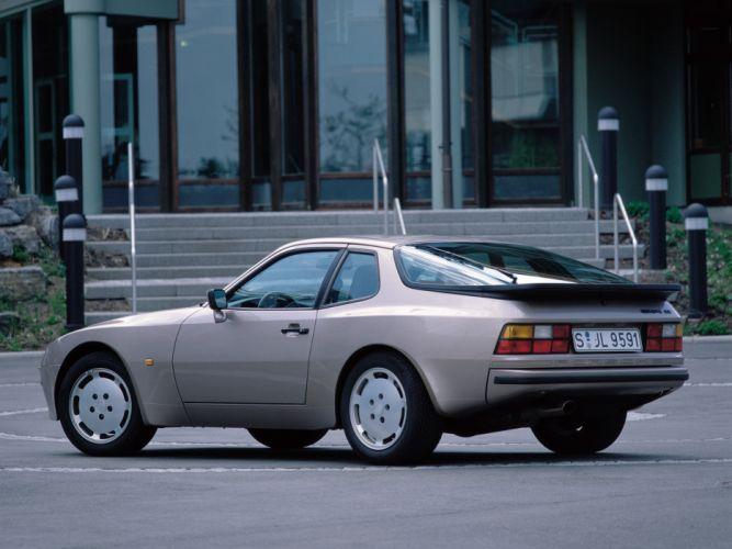 1987 Porsche 944 S Coupe classic f wallpaper