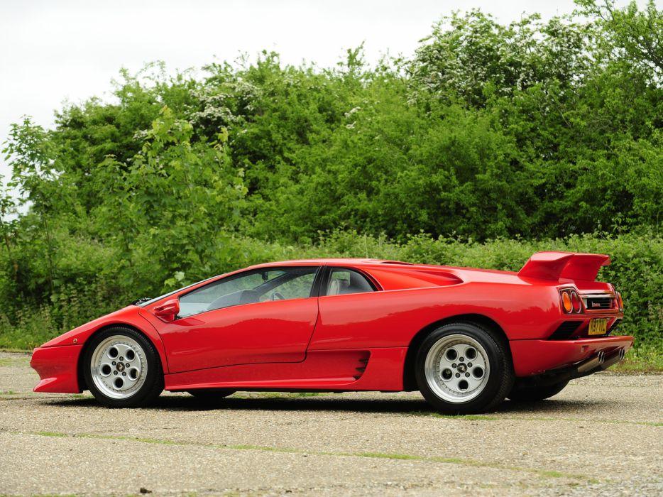 1990 Lamborghini Diablo UK-spec supercar supercars   f wallpaper