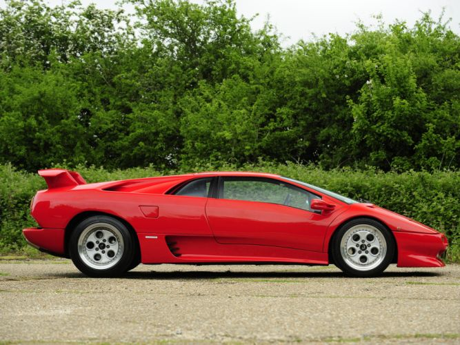 1990 Lamborghini Diablo UK-spec supercar supercars g wallpaper