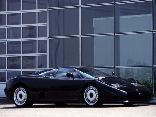 1992 Bugatti EB110 G-T supercar supercars g wallpaper