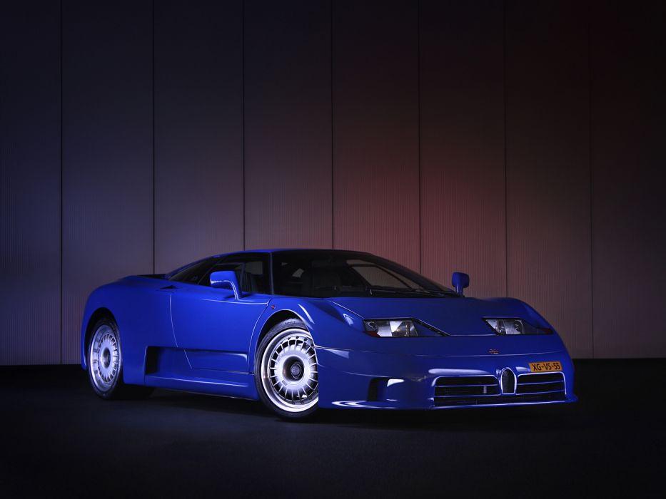 1992 Bugatti EB110 G-T supercar supercars     w wallpaper
