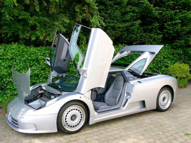 1992 Bugatti EB110 G-T supercar supercars interior f wallpaper