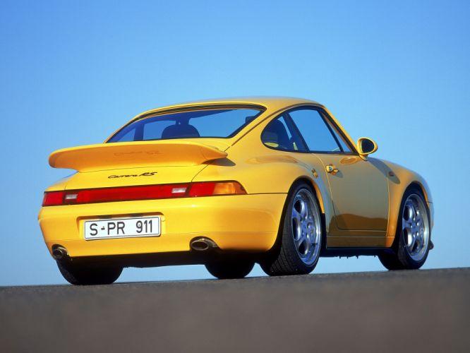 1995 Porsche 911 Carrera R-S 3_8 Coupe 993 supercar supercars wallpaper