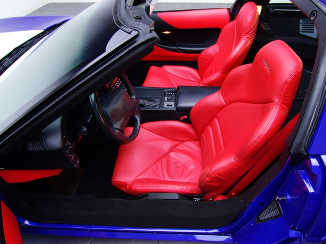 1996 Corvette Grand Sport Coupe C-4 supercar supercars muscle interior k wallpaper