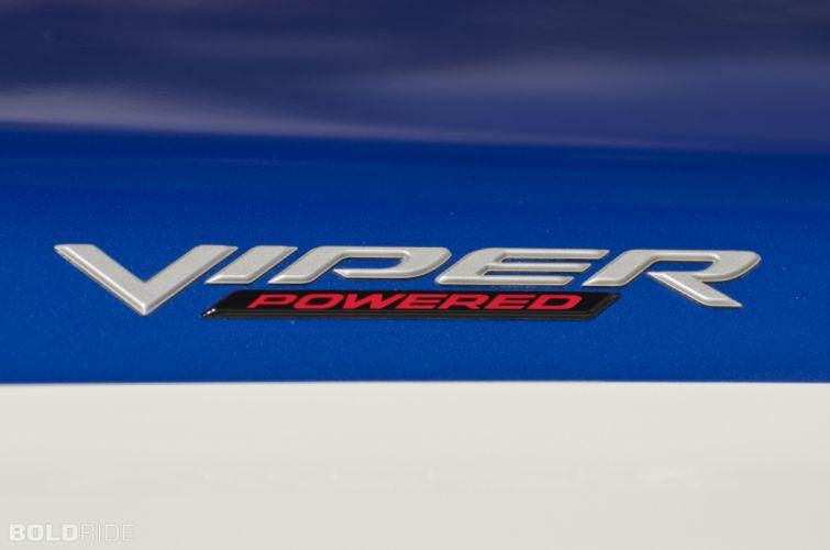 2005 Dodge Ram SRT-10 V10 viper muscle hot rod rods supertruck truck pickup engine engines logo wallpaper