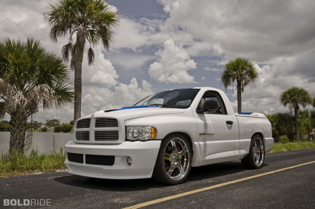 2005 Dodge Ram SRT-10 V10 viper muscle hot rod rods supertruck truck pickup  f wallpaper
