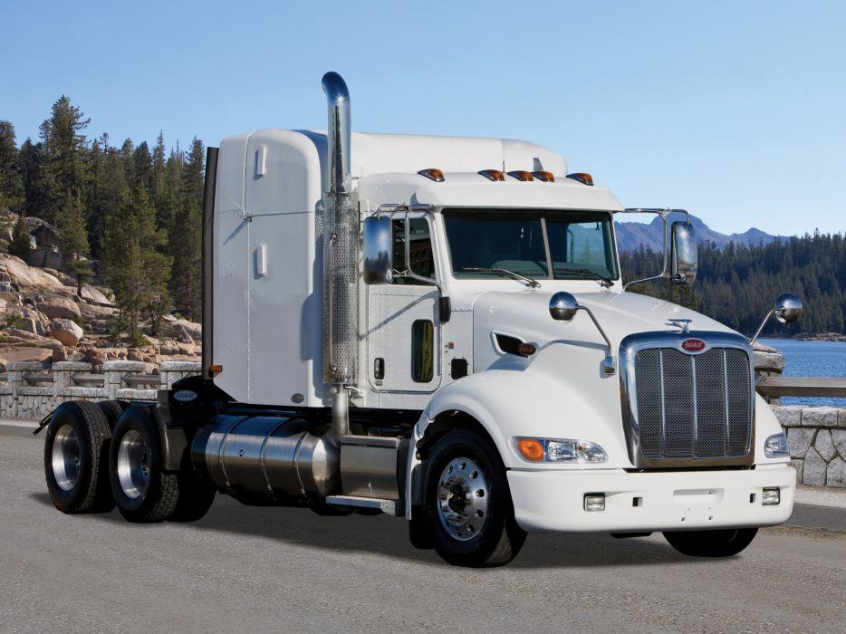 2005 Peterbilt 386 tractor semi truck transport rig rigs wallpaper