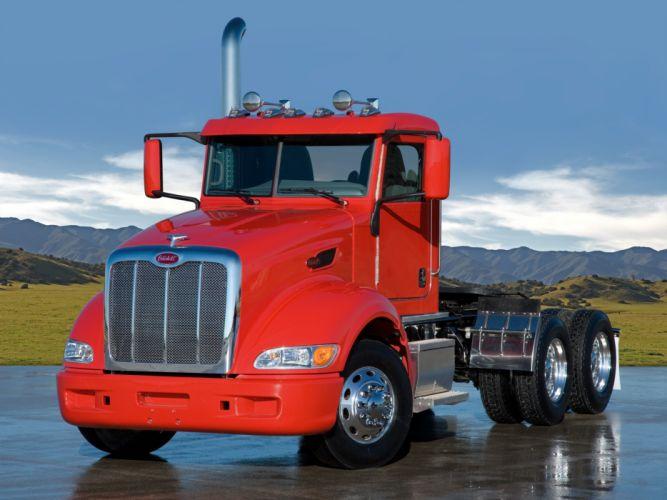 2005 Peterbilt 386 tractor semi truck transport rig rigs g wallpaper