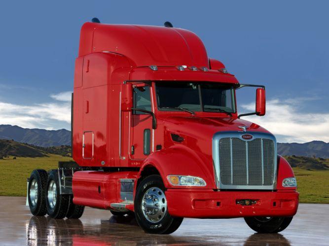 2005 Peterbilt 386 tractor semi truck transport rig rigs f wallpaper