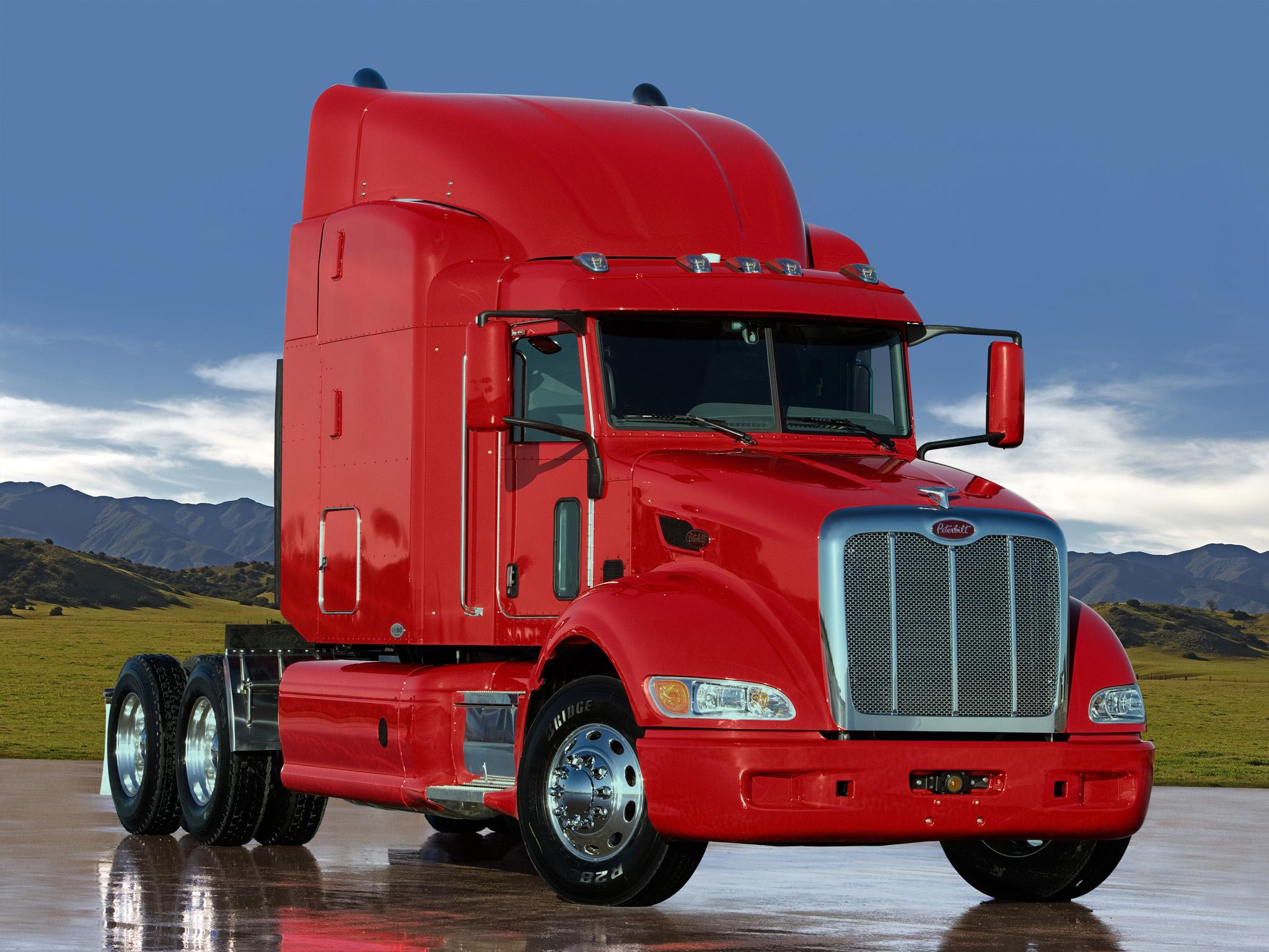 2005 Peterbilt 386 tractor semi truck transport rig rigs f ...