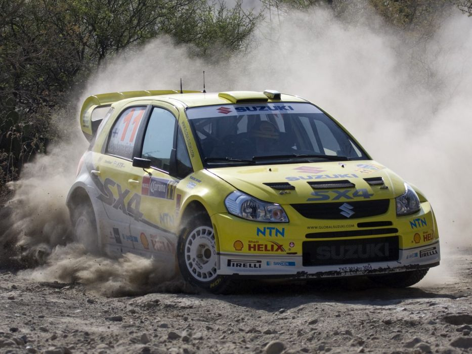 2008 Suzuki SX4 WRC race racing rally     g wallpaper